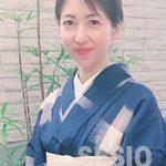 下畑可寿子は52歳和服美人